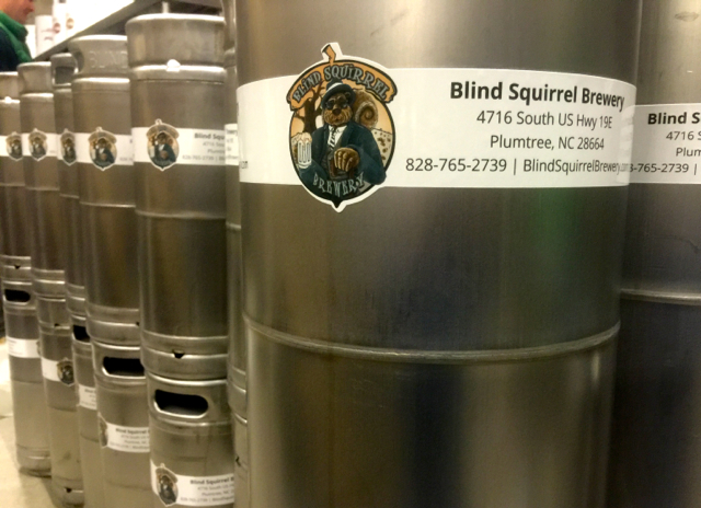 KegCollars.net Keg Wraps for Blind Squirrel Brewery