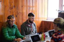 Cognitive testing in Tengboche