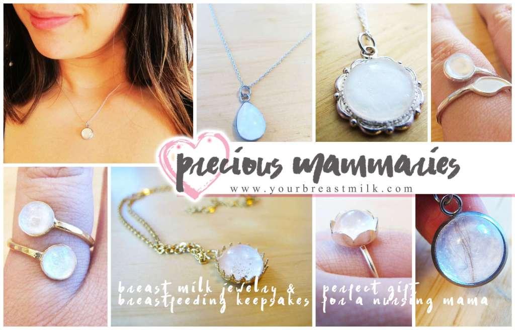 Precious Mammaries Breast Milk Jewelry and DNA Keepsakes, yourbreastmilk.com