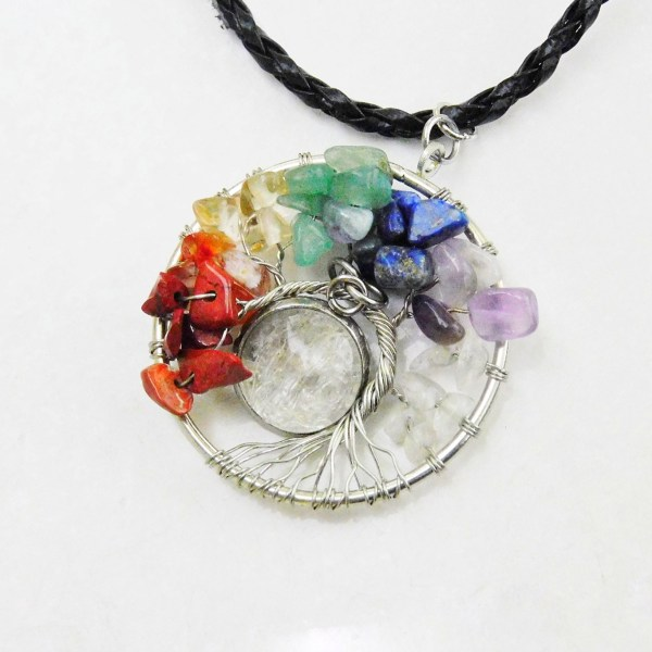 tree of life wire necklace