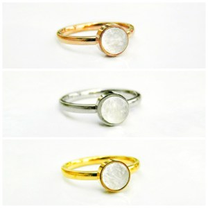stainless stacking rings