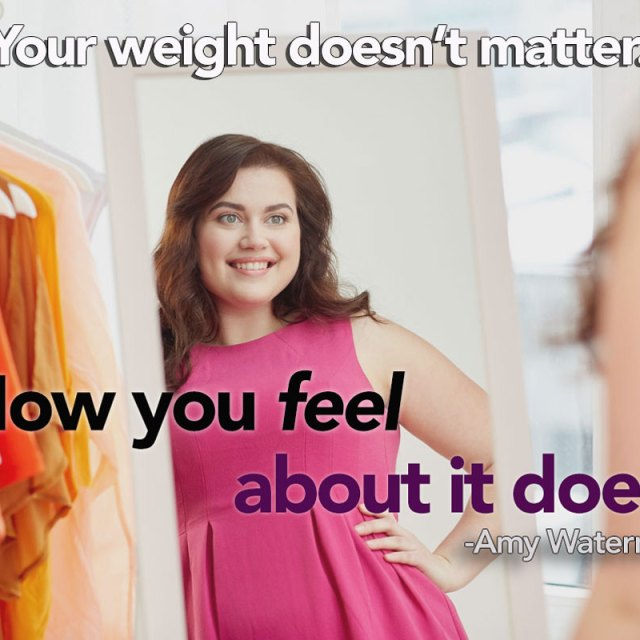 How you feel about your weight matters