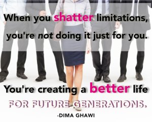 Empowering Women with Dima Ghawi (Video)