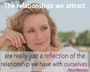 The relationships we attract