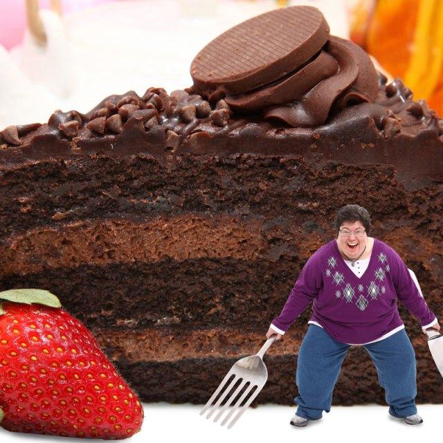 terrified of gaining weight