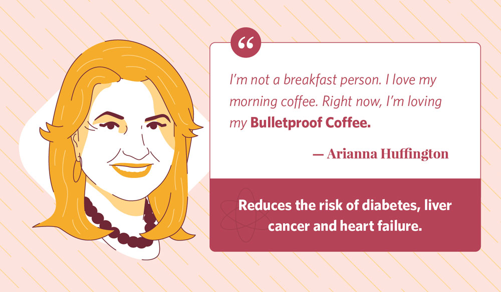 arianna huffington's morning routine