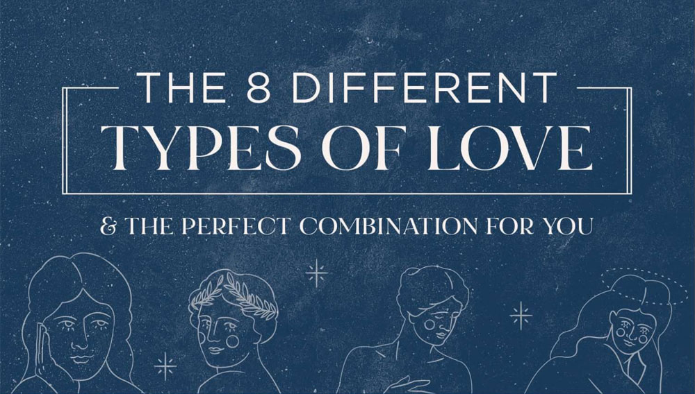 Of and love types what love is What Are