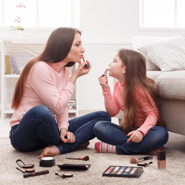 let your daughter wear makeup
