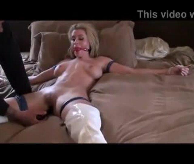 Randy Moore Light Bondage And Buttplug