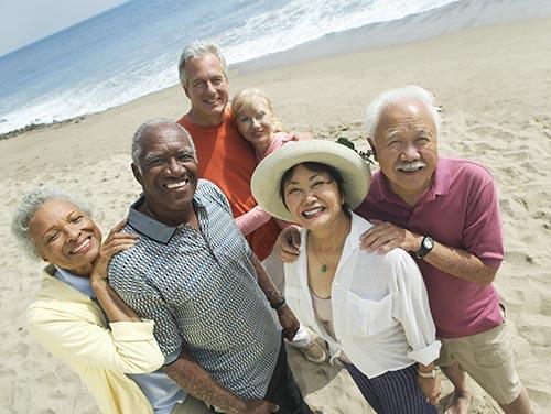 Happy Your Care Rep Medicare Advantage seniors