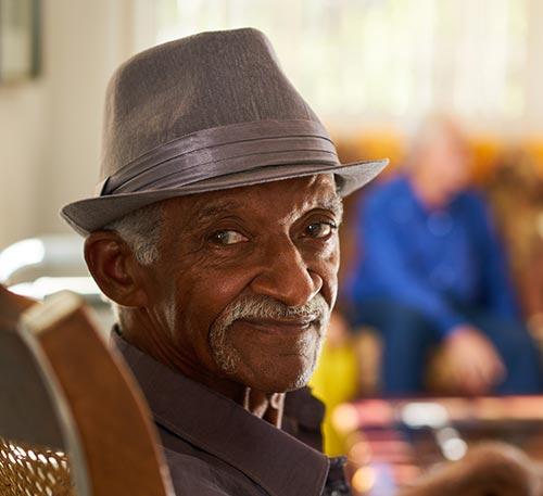 Happy Veteran with Medicare