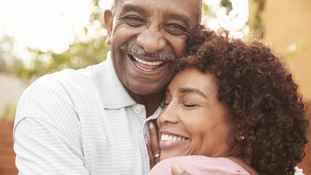 Happy father with daughter because he is covered by critical illness insurance