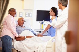 hospitalized veteran