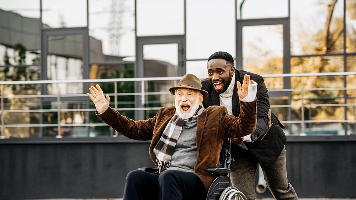 caring for a senior