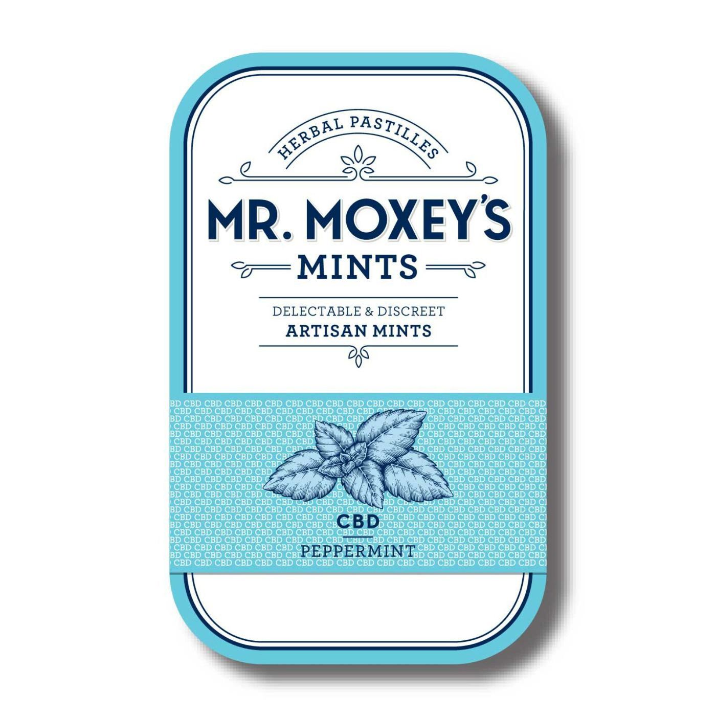 300 MG Mr. Moxey's CBD Peppermints $40