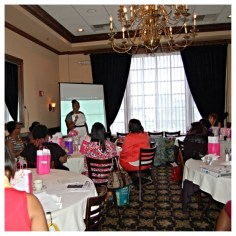We had a full house at the Chasing Joy Brunch and Learn!