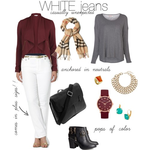 White After Labor Day: WHITE Jeans