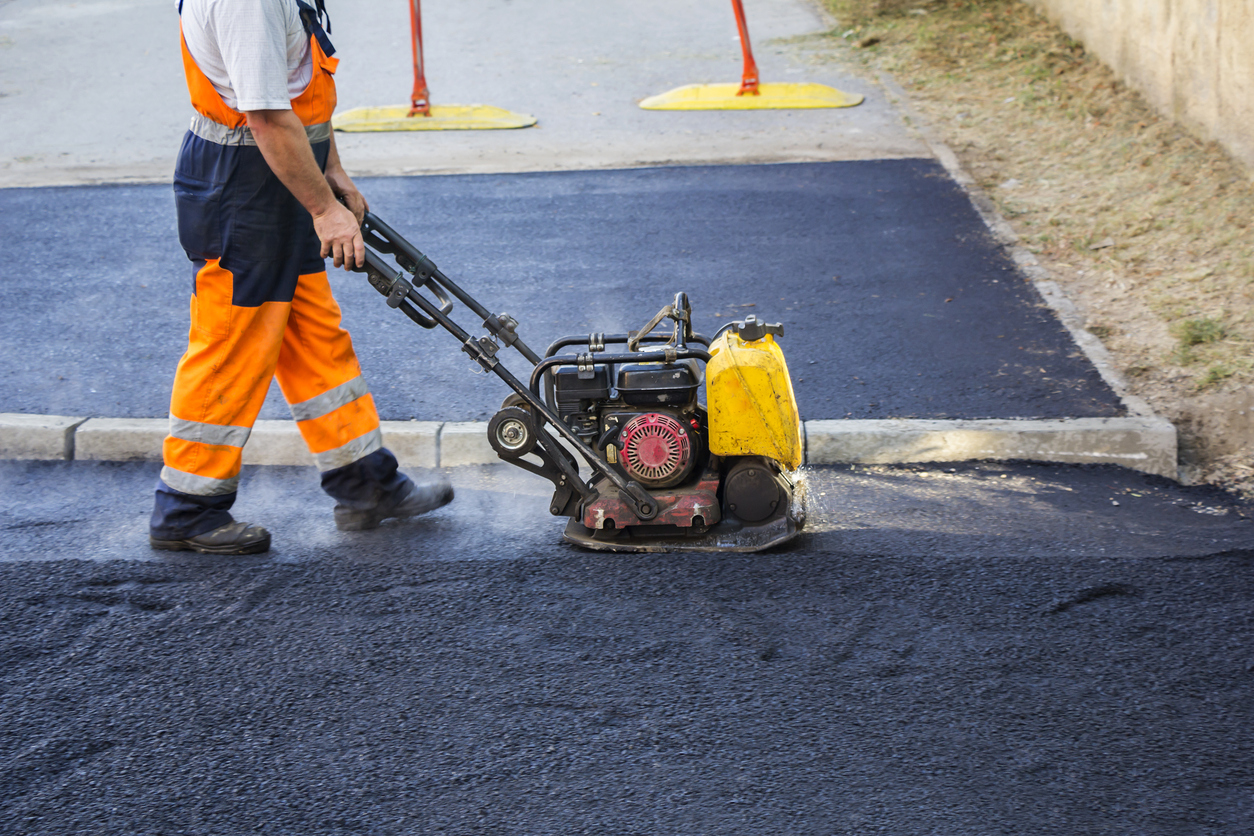 Image result for Paving Contractor  istock