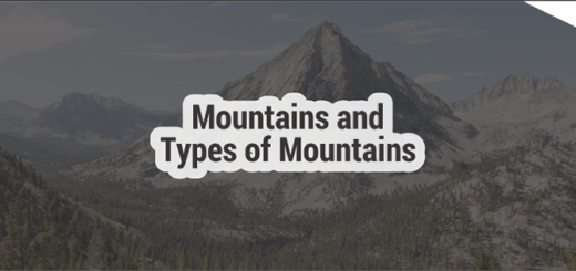 Mountains and Types of mountains