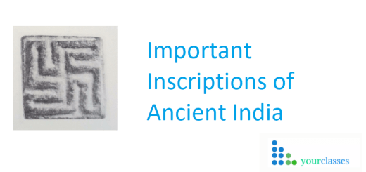 Important Inscriptions of Ancient India