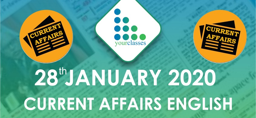 28 Jan Current Affairs in English