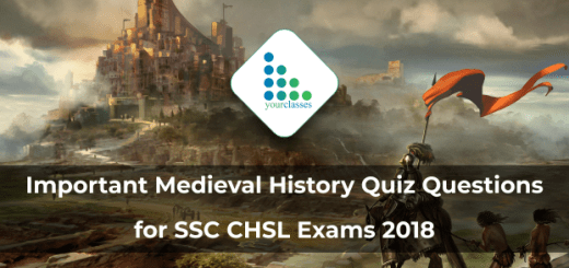 Important Medieval History Quiz Questions for SSC CHSL Exams 2018