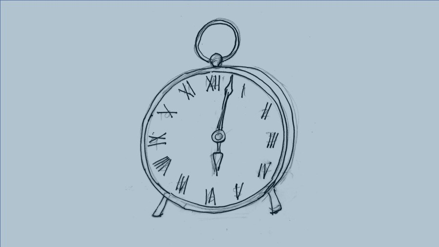 Round Old Fashioned Clock to Illustrate the Free Maximise Your Time Survey Available in Interior Design Business Resources
