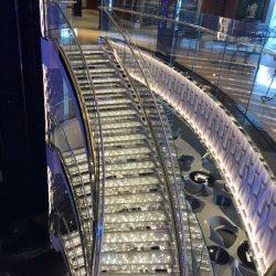 MSC SEASIDE CRYSTAL STAIRS