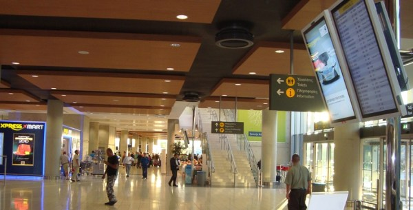 Cyprus Taxi Larnaca Airport Arrival Area