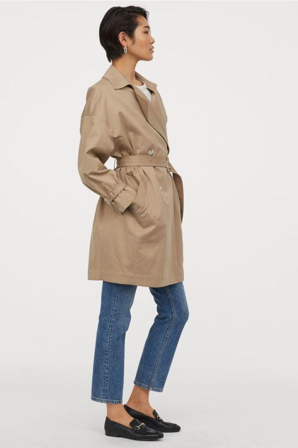 H&M Trenchcoat 59,99.
