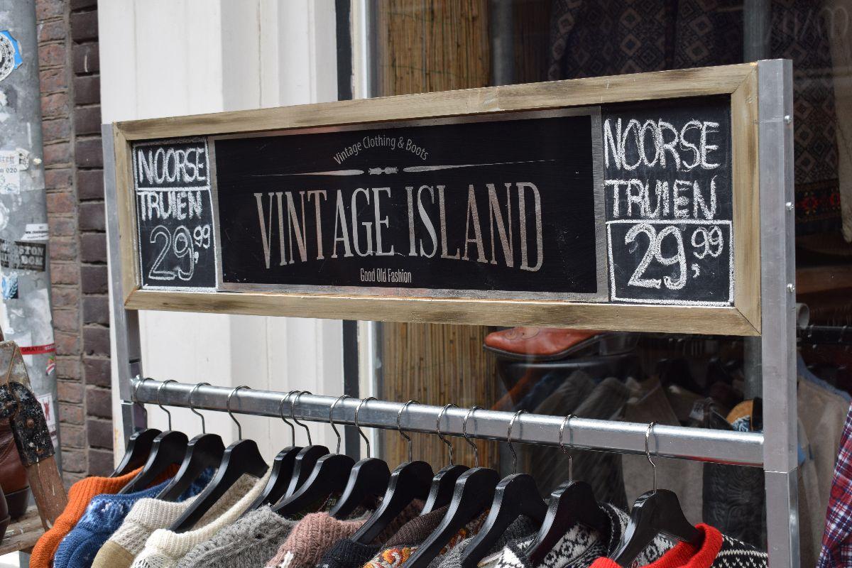 Vintage island
