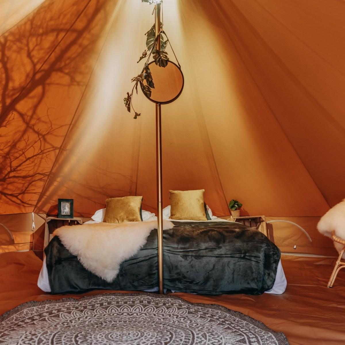 De Big Bell tent