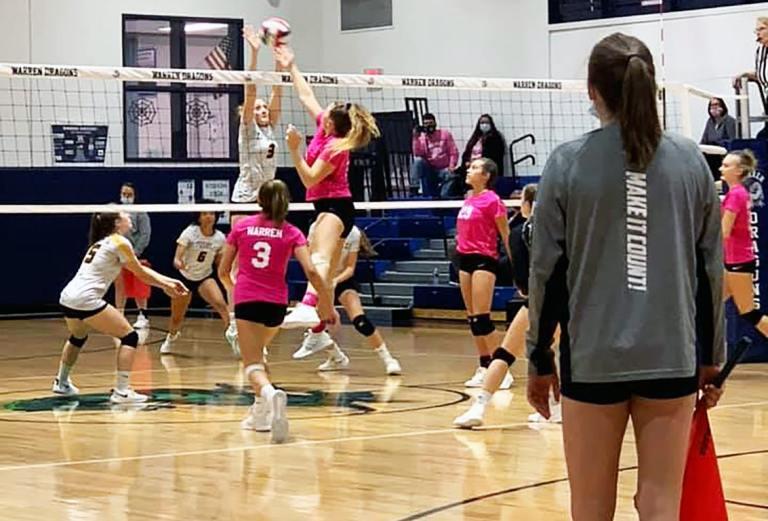 Warren Volleyball Takes Down Titusville