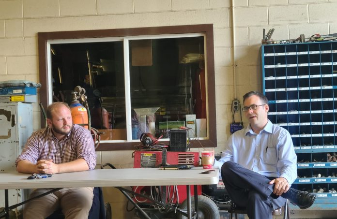 Commissioners Detail Future Plans During Pleasant Township Town Hall
