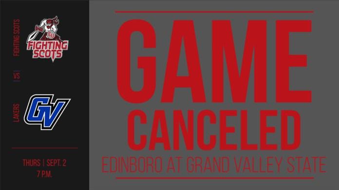Football canceled due to COVID