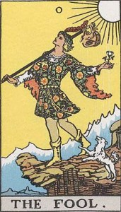 The fool, a common character in Shakespeare plays