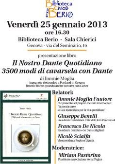 4. Annuncio presentazione Genova