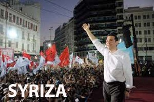 "Image of Syriza's rally and Tsipras as illustration of a Shakesperean line ""it was Greek to me"""