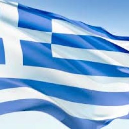 "Greek flag as an illustration of the quote and article, ""Much Ado About Tsipras"""