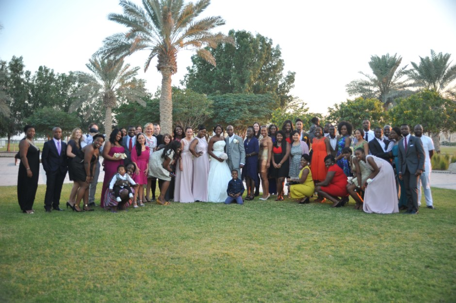 family friends wedding dubai nigerian