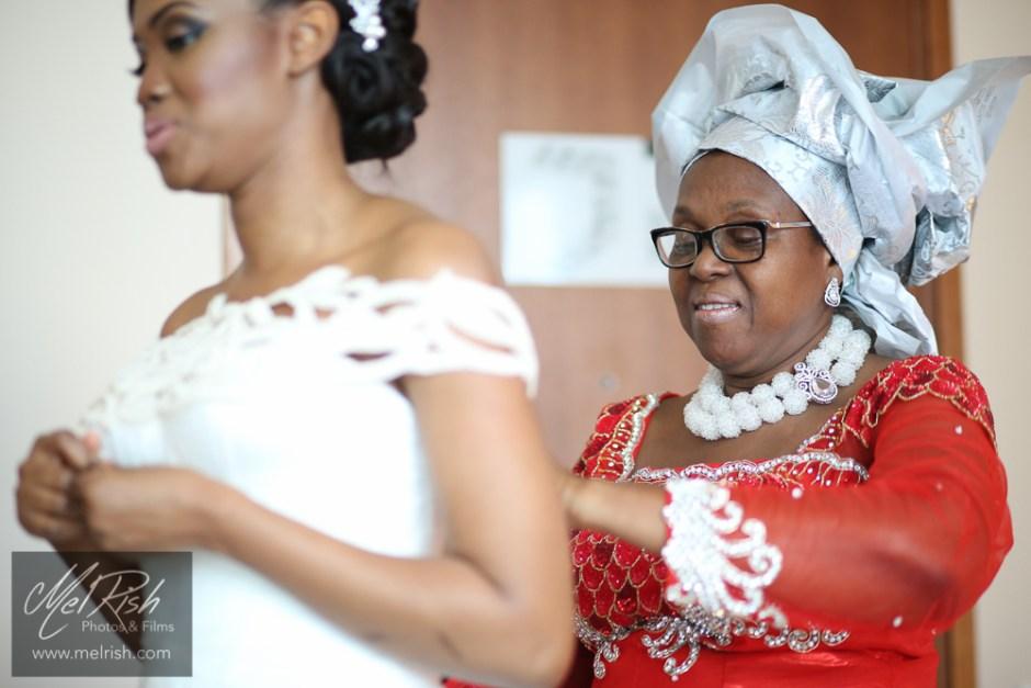 Nigerian Bride Mother Gele