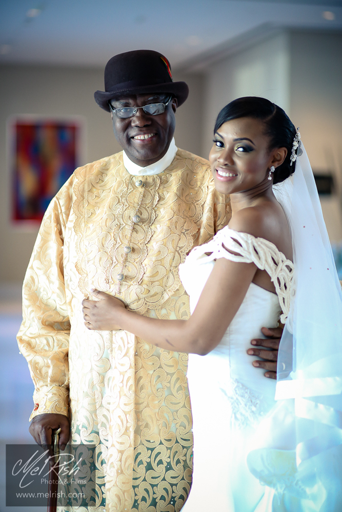 Father Bride Wedding Nigerian