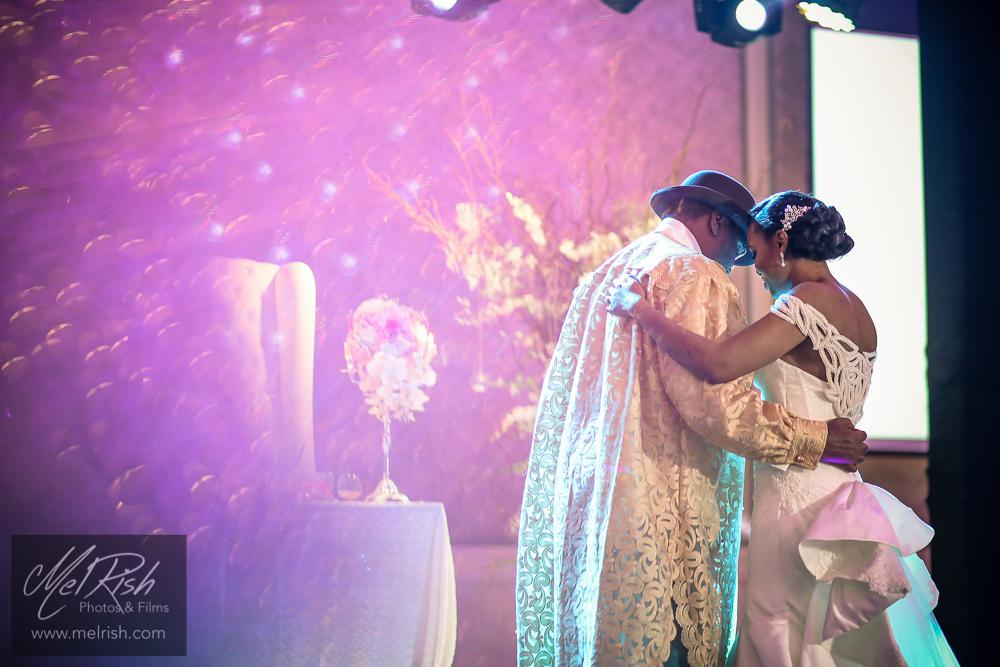 father daughter dance bride wedding nigerian