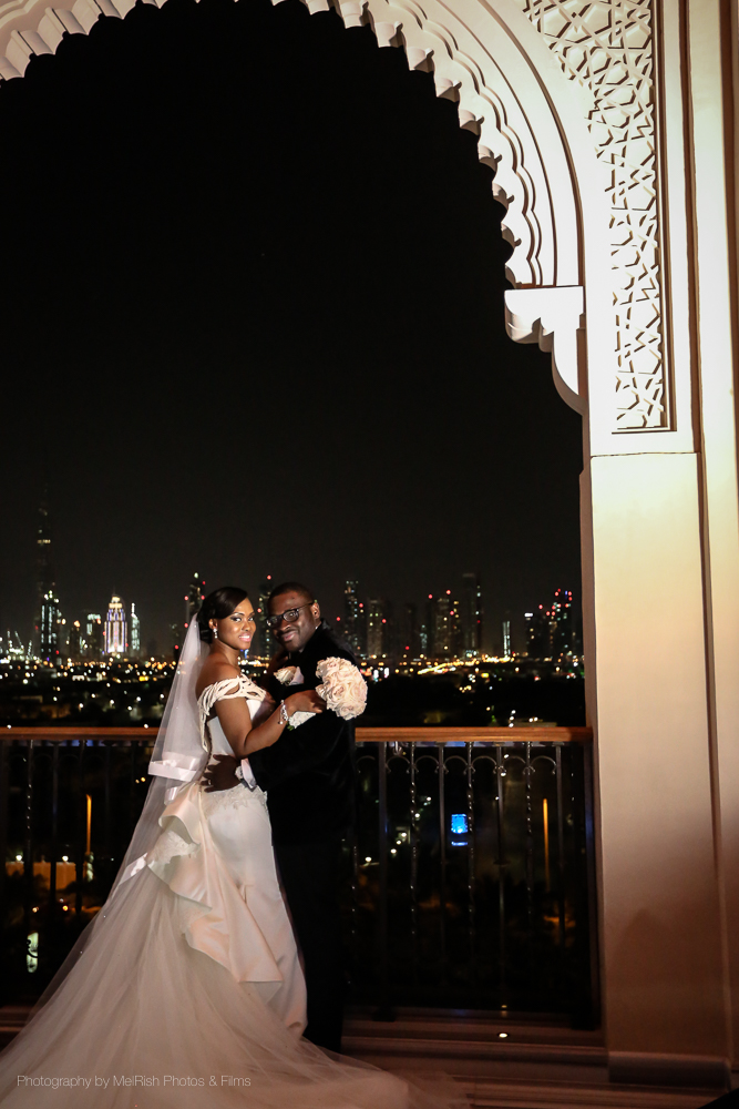 skyline wedding married mr mrs dubai wedding planner
