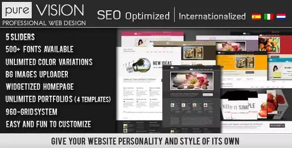 PureVISION WordPress Theme