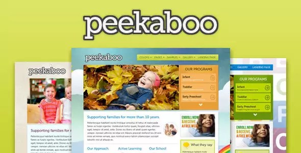 Pekaboo for WordPress - Children Theme Template
