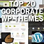 Top 20 premium corporate wordpress themes from themeforest