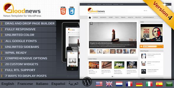 Goodnews – Premium WordPress News/Magazine