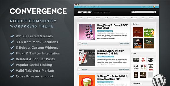 Convergence - Community WordPress Theme