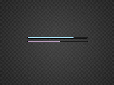 pink blue thin loading bars web ui psd